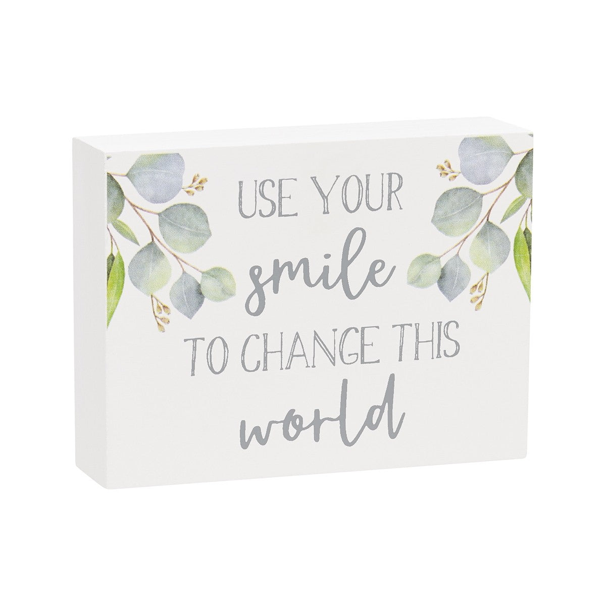 Let your Smile Wood Block