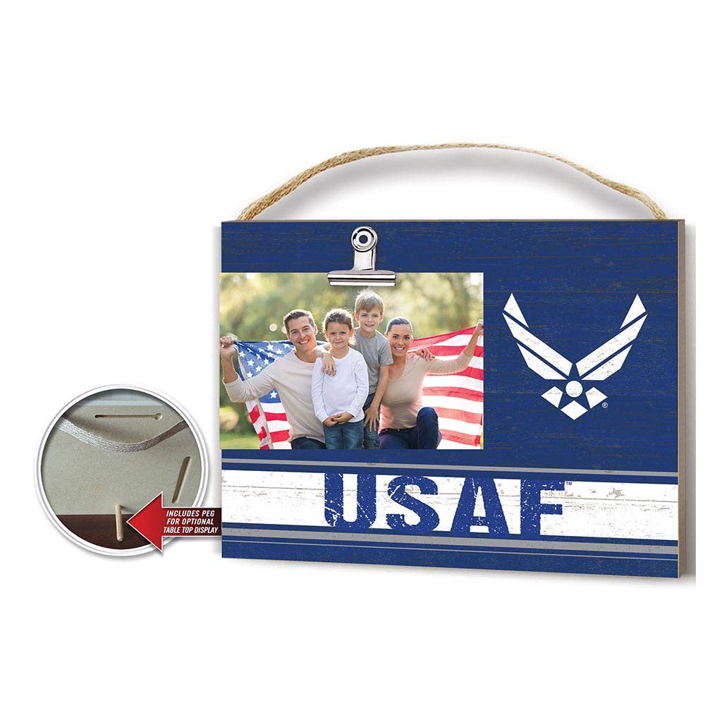 Clip it Air Force Frame