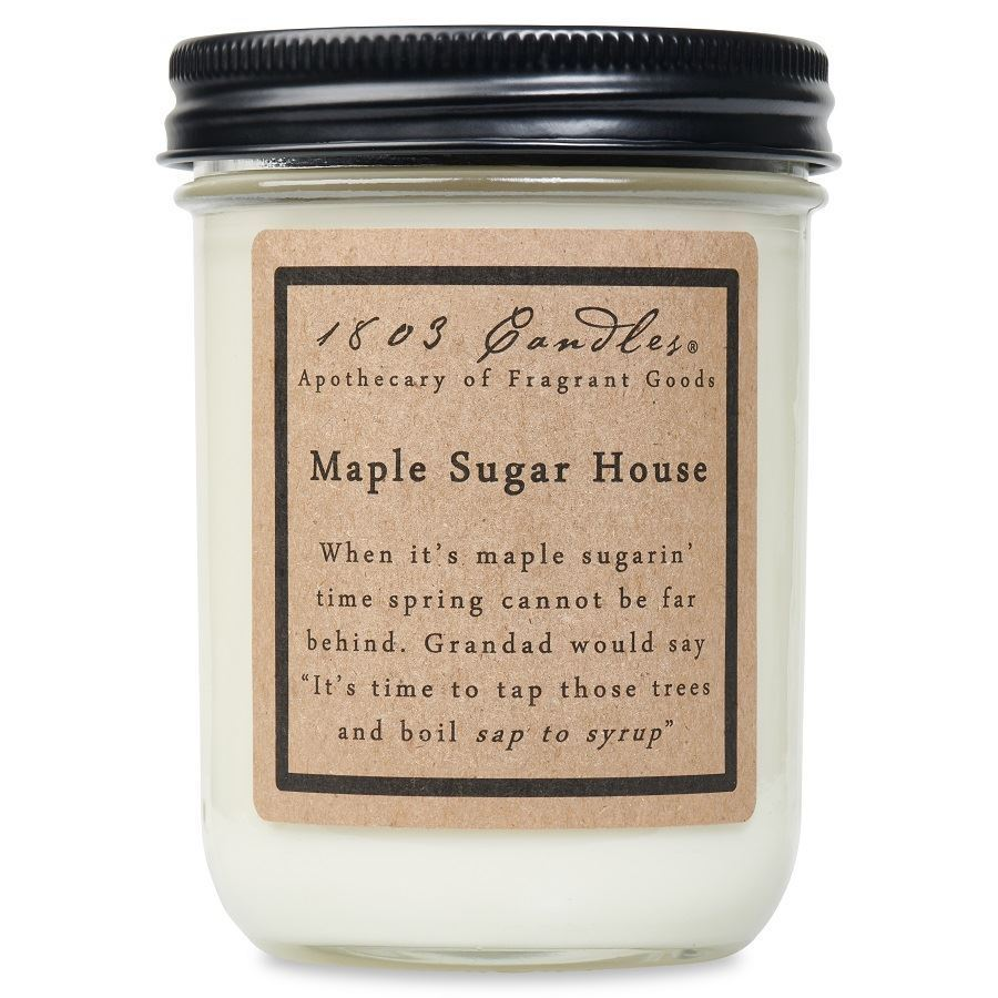Maple Sugar House Soy Jar (14 oz)