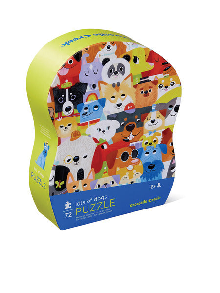 72 Piece Lots of Dogs Puzzle