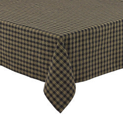 Sturbridge Black Tablecloth