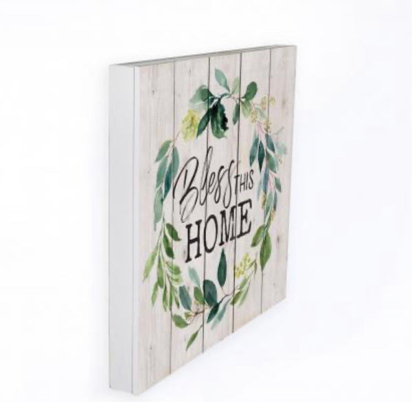 Bless this Home Pallet Sign - the olde farmstead