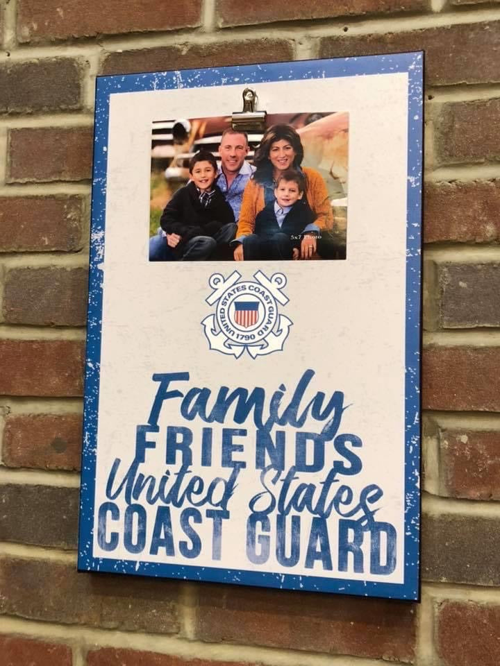 Clip Canvas Coast Guard Photo Frame