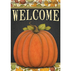 Give Thanks Pumpkin Garden Flag