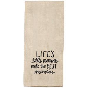Life's Little Moments Towel