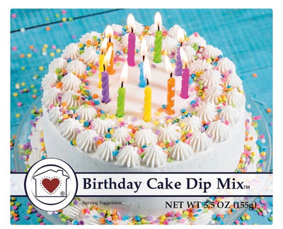 Birthday Cake Dip Mix