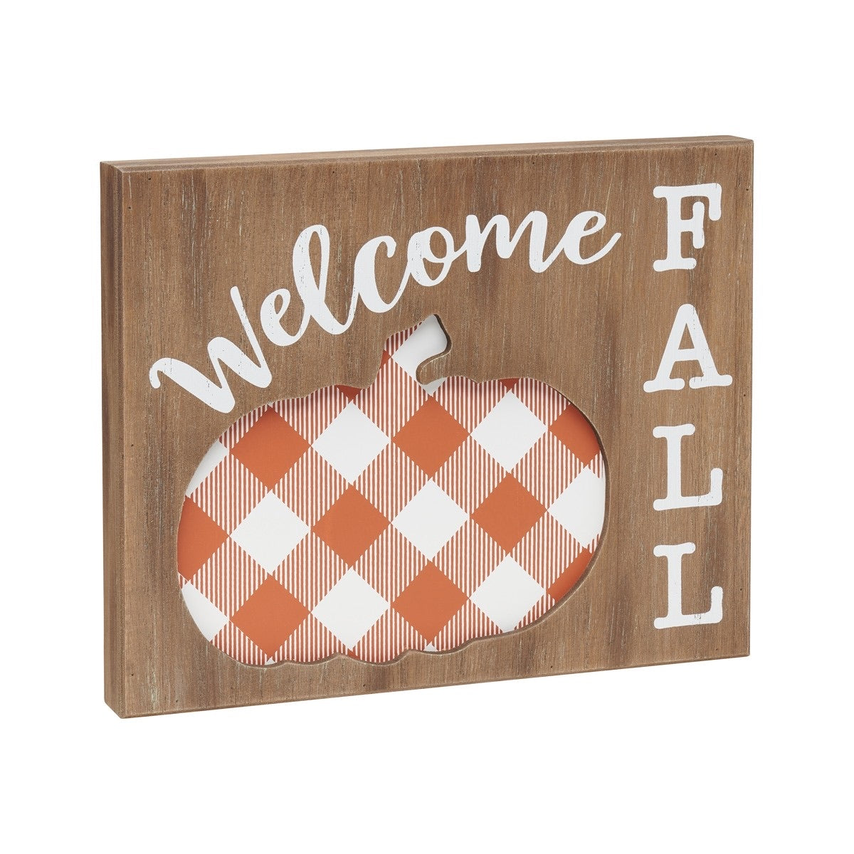 Welcome Fall Layered Sign