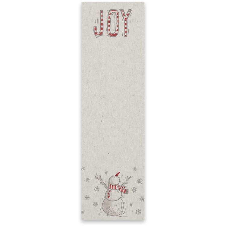 Joy Snowman Notepad