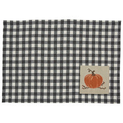 Autumn Checkerboard Placemat