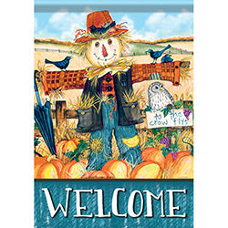 Mr Scarecrow Garden Flag