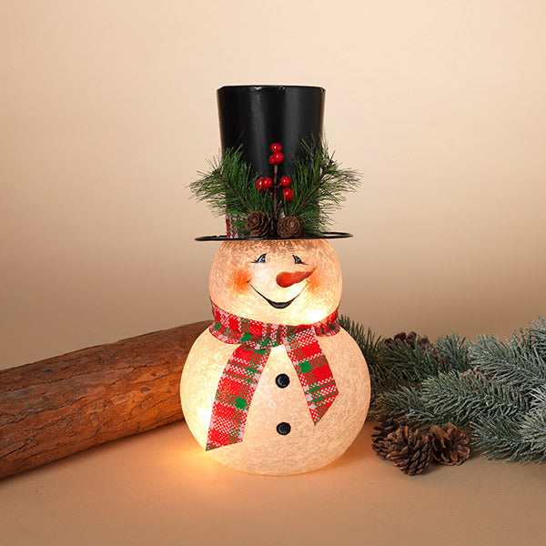 Snowman Body with Tall Hat Light