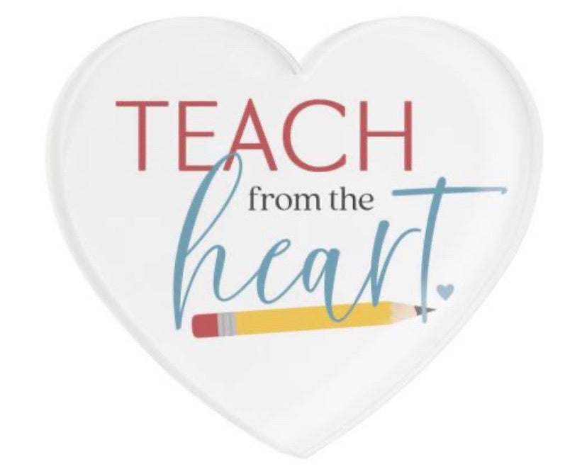 Teach Heart Magnet