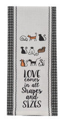 Cats All Shapes and Sizes Towel