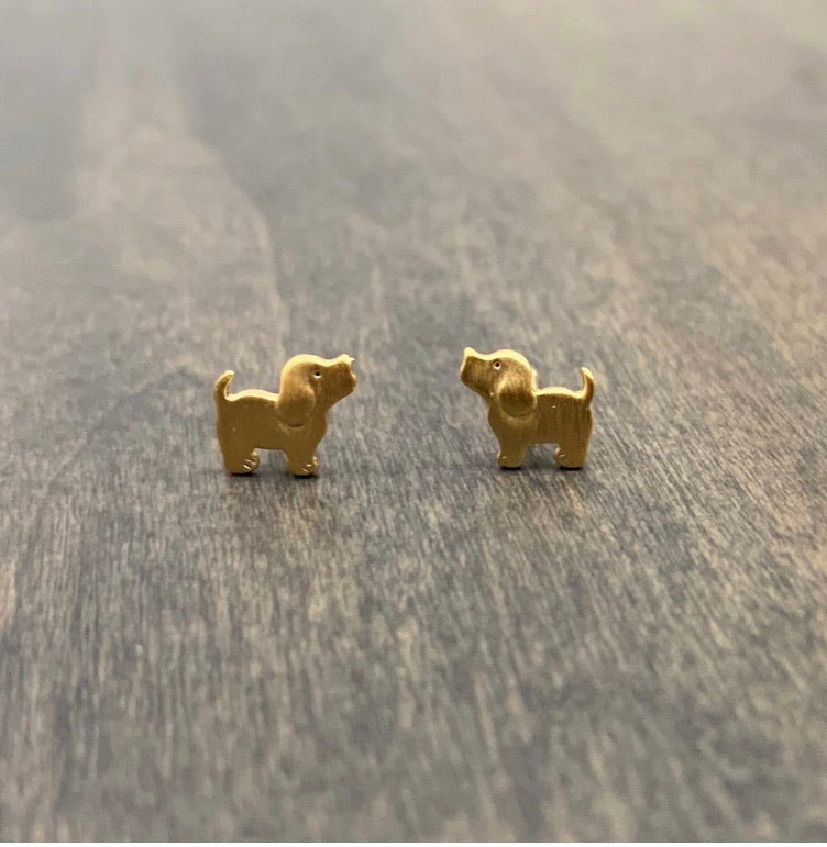 Puppie Love Stud Earrings