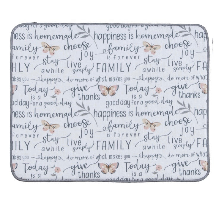 Blessings Drying Mat