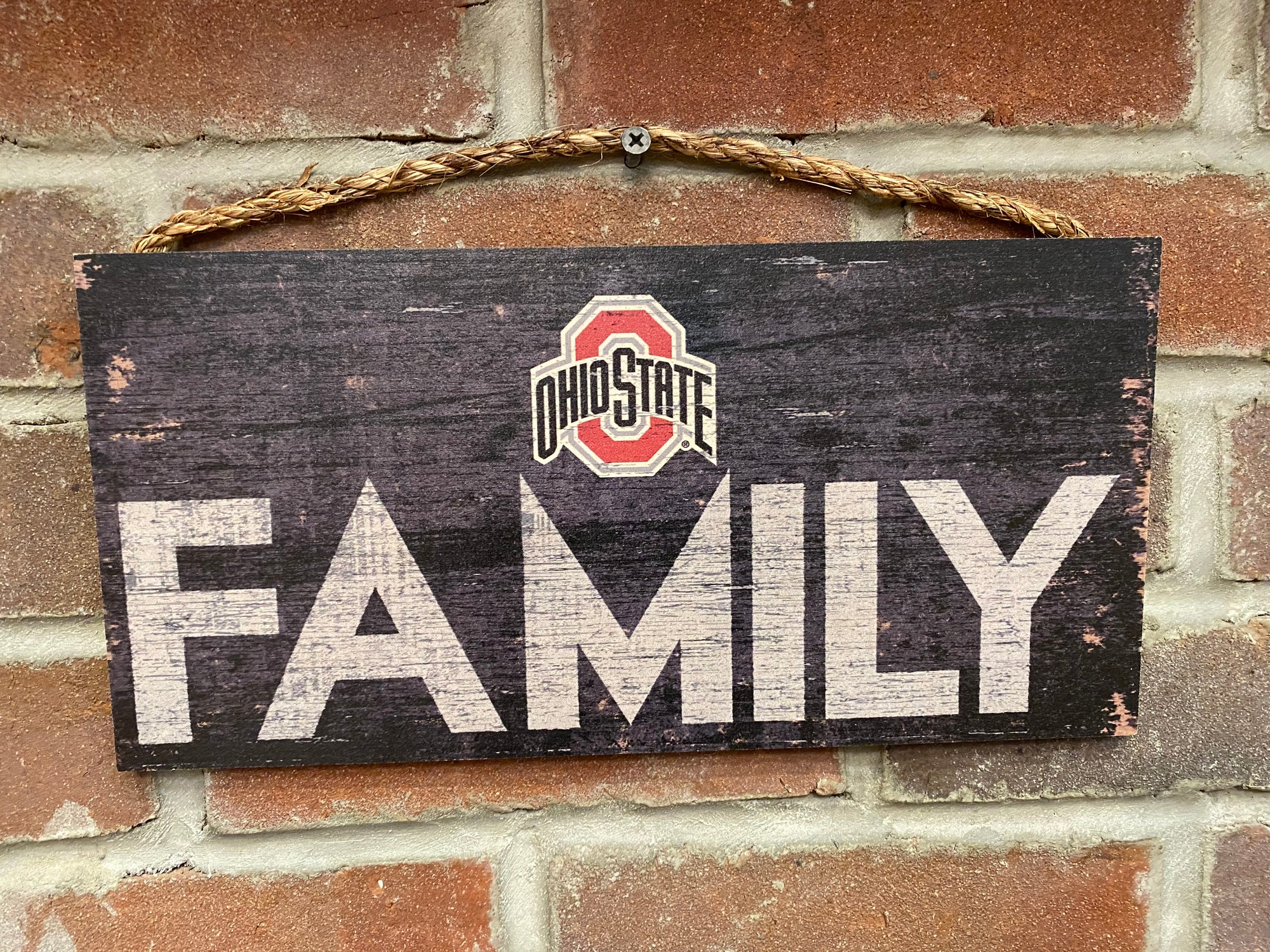 Ohio State Family Sign