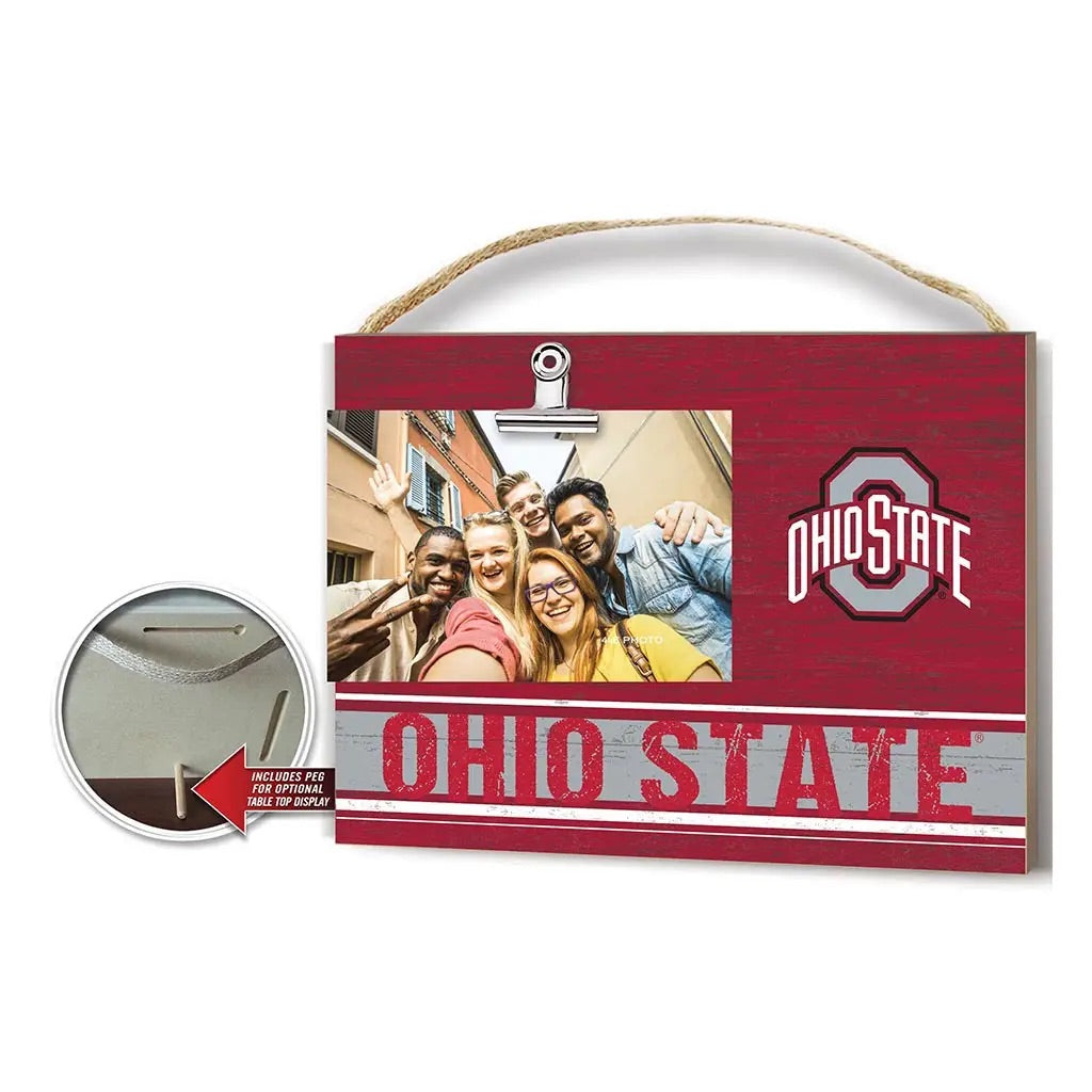 Clip It Ohio State Photo Frame - Red