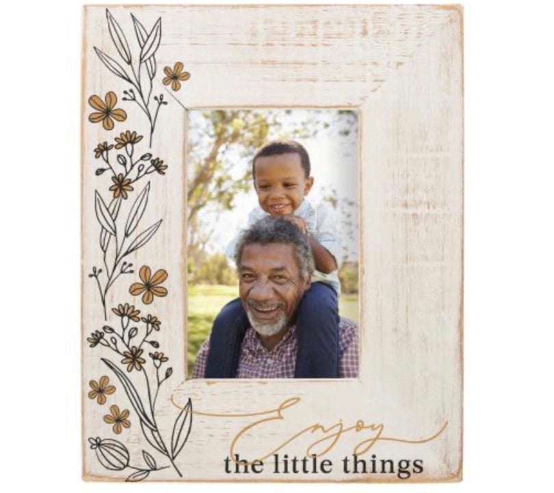 Enjoy the Little Things Photo Frame