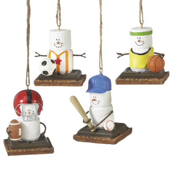 S'mores Sports Ornament - 4 styles