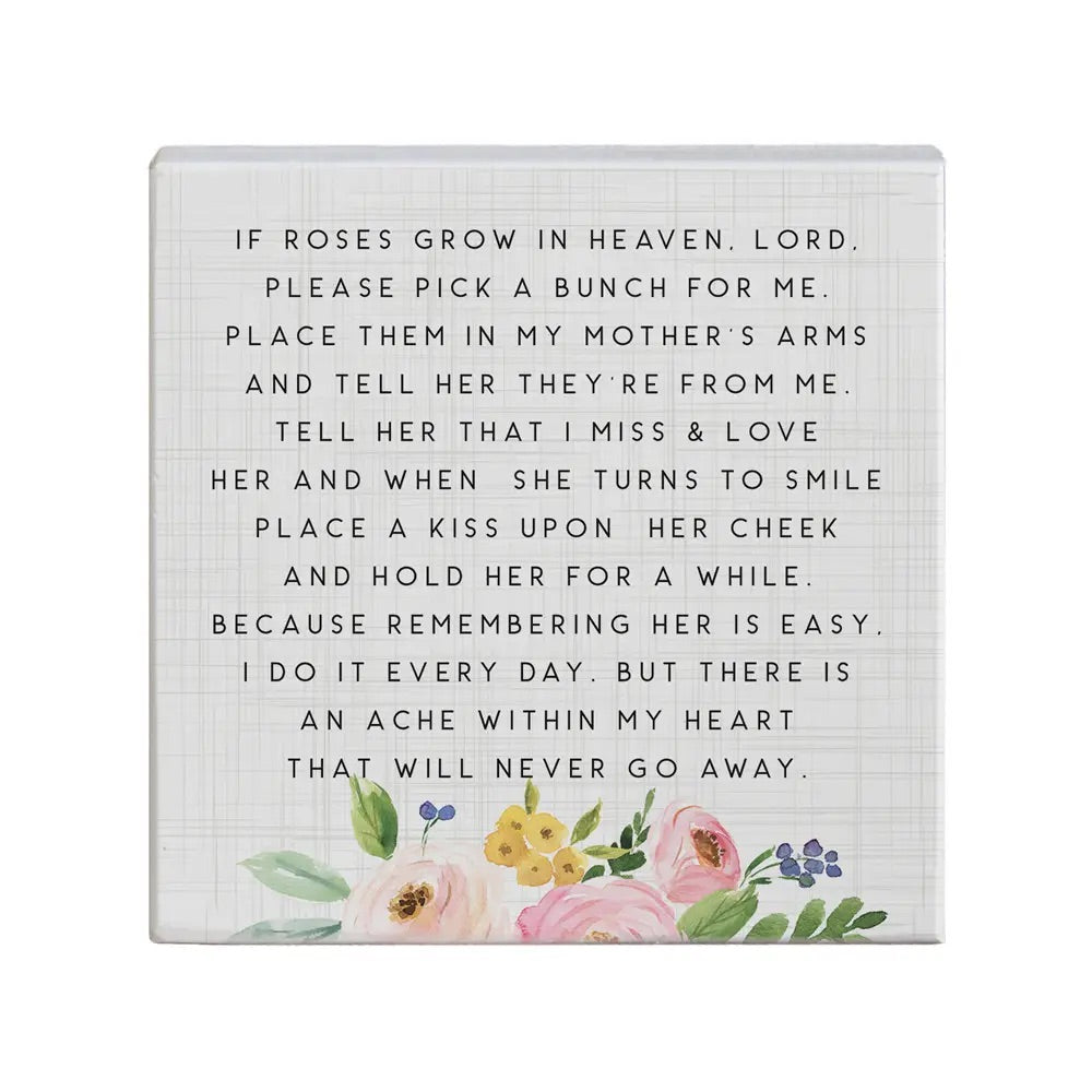 Roses in Heaven Sign