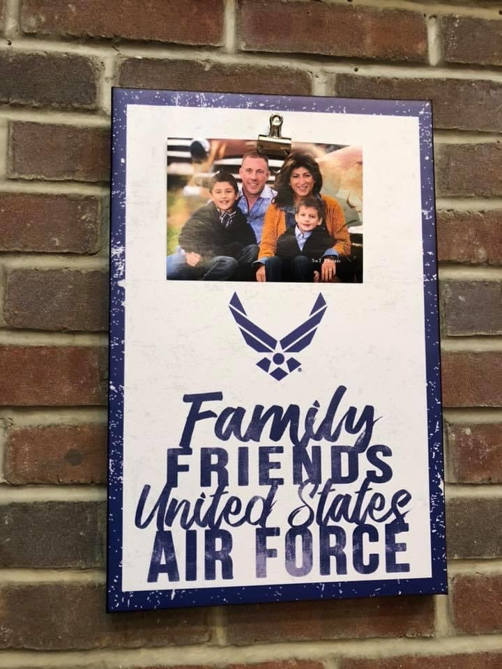 Clip Canvas Air Force Photo Frame