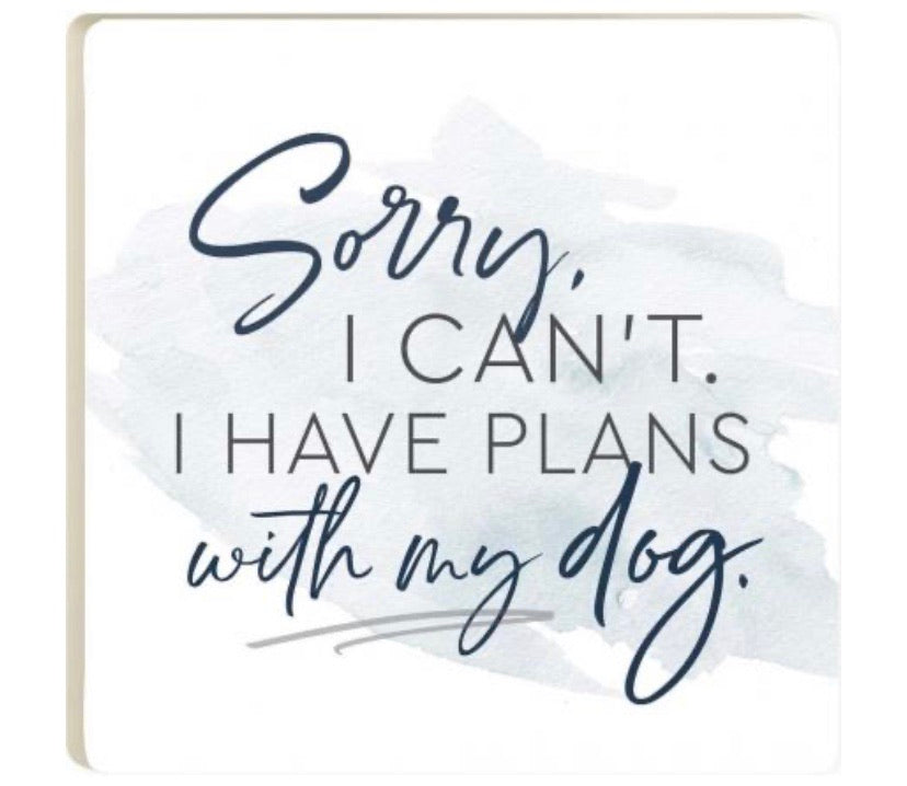 Plans with My Dog Coaster