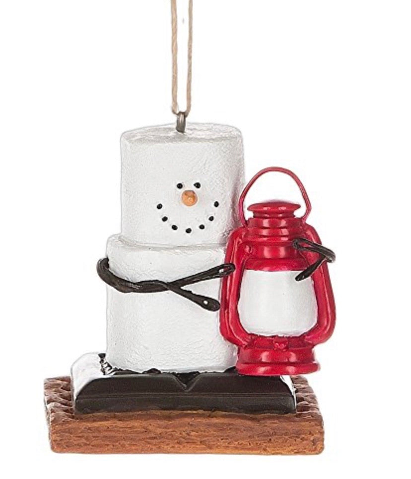 S'mores with Lantern Ornament