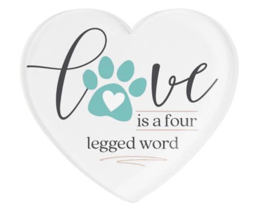 Love Paw Heart Magnet