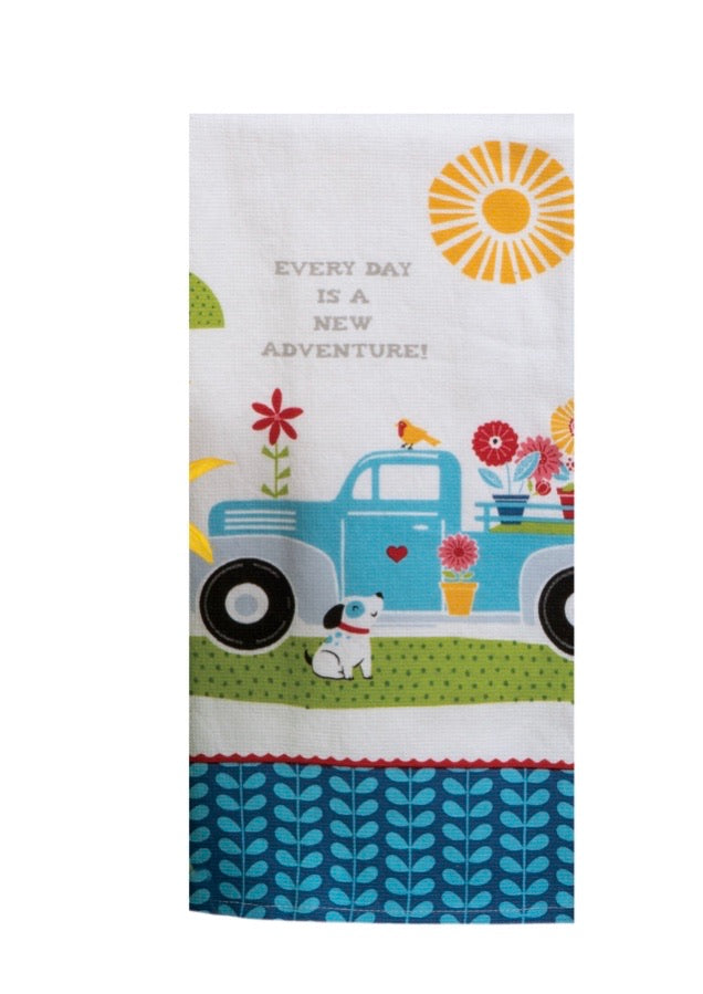 Adventure Truck Towel