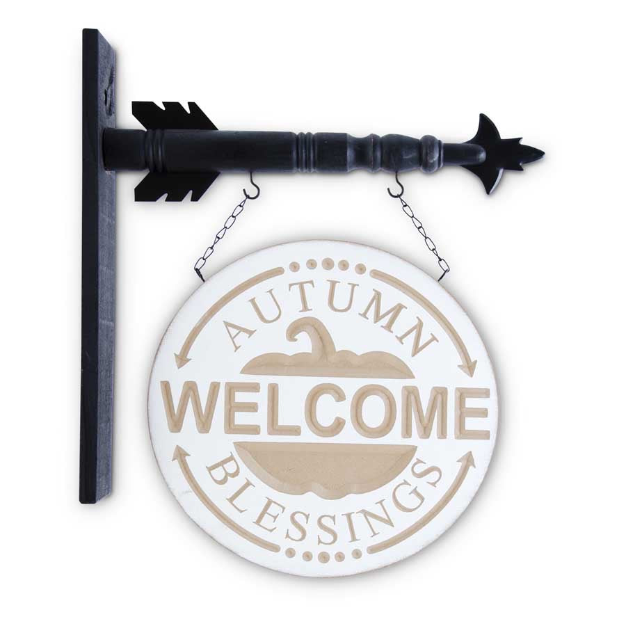 Welcome Autumn Blessings Arrow Replacement