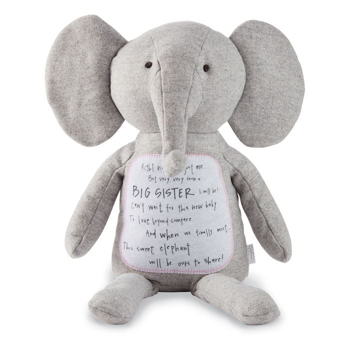 Big Sister Sharing Poem Elephant