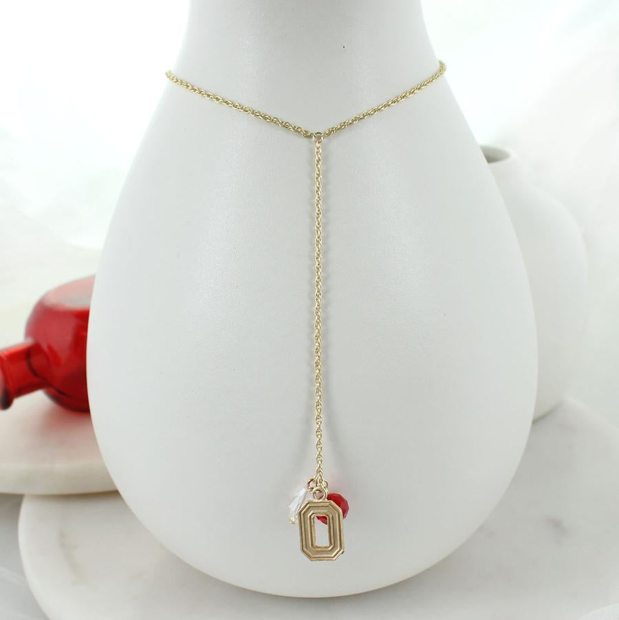"Ohio State Logo ""Y"" Necklace"