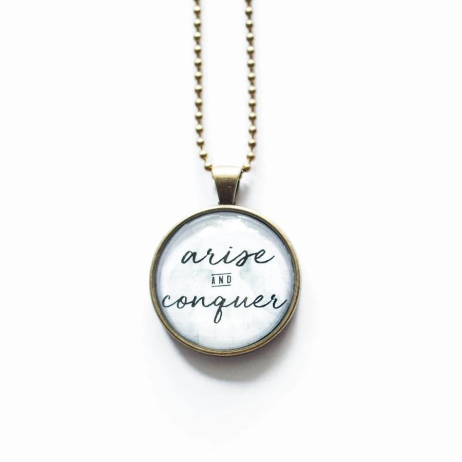 Arise and Conquer Necklace