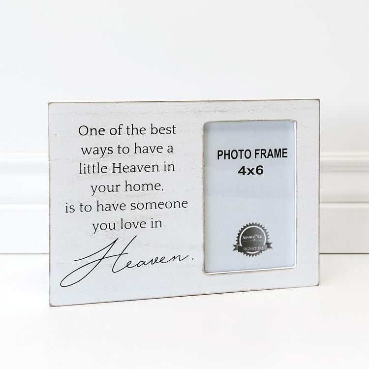 Heaven in your Home Photo Frame