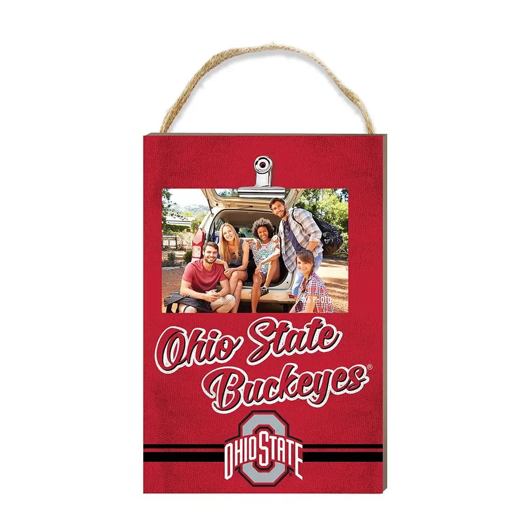 Hanging Clip Photo Frame/Ohio State Buckeyes