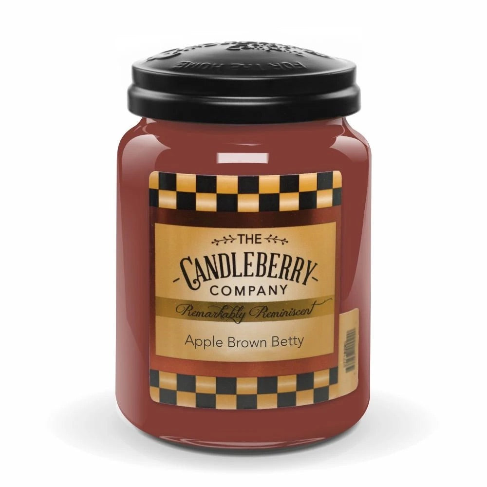 Apple Brown Betty 26 oz Candleberry Candle