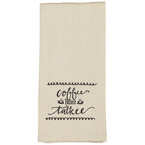 Coffee/Talkee Towel