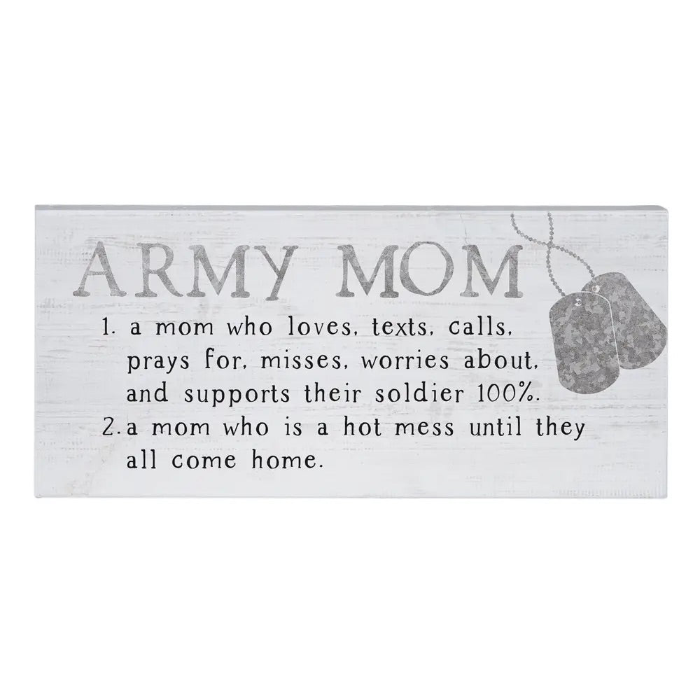Army Mom Sign