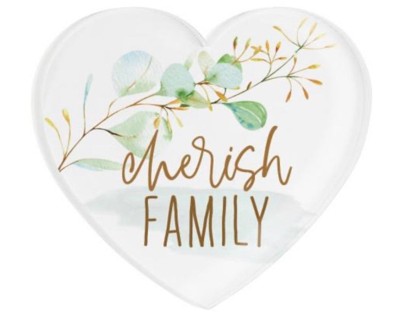Cherish Family Heart Magnet