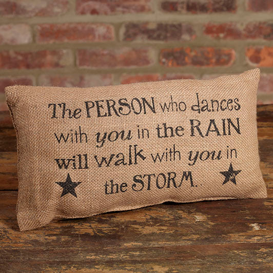 Dance in the Rain Pillow