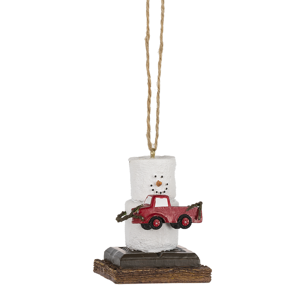 S'mores Pick Up Truck Ornament