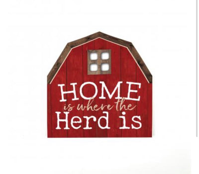 The Herd Red Barn