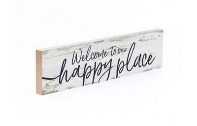 Happy Place Mini Sign