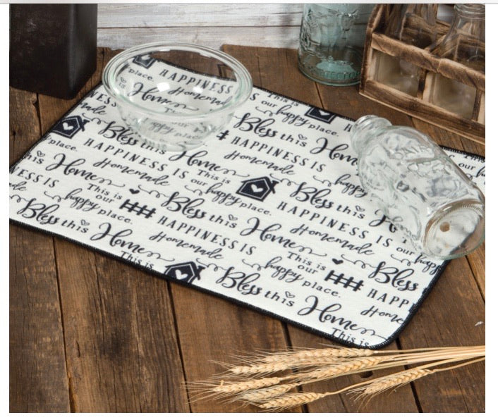 Farmhouse Drying Mat