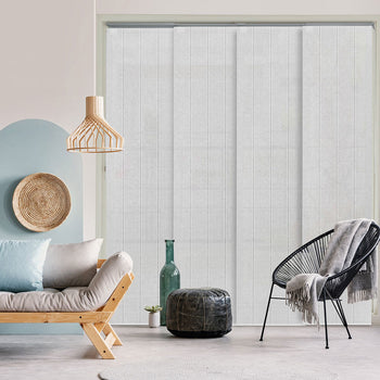 Adjustable Sliding Panel Blinds | Snowy Bubo