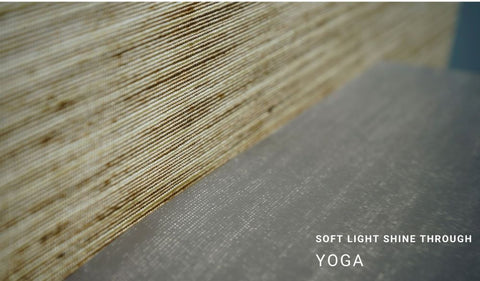 soft light shine through-yoga