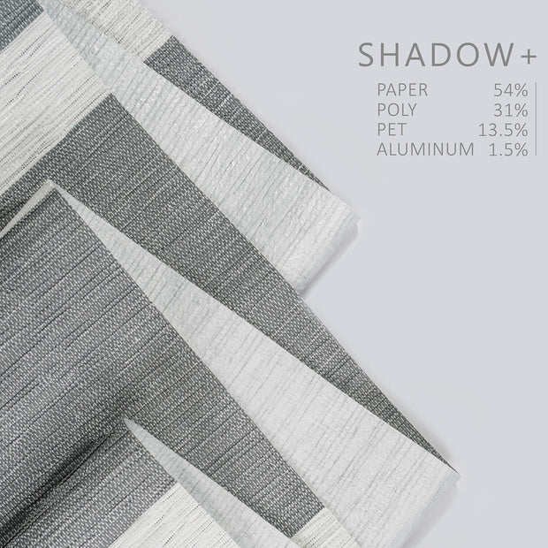 Adjustable Sliding Panels | Blackout | Shadow +