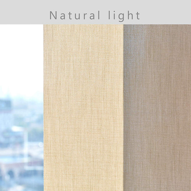 Motorized Roller Shade | Light Filtering | Cream - GoDear shop