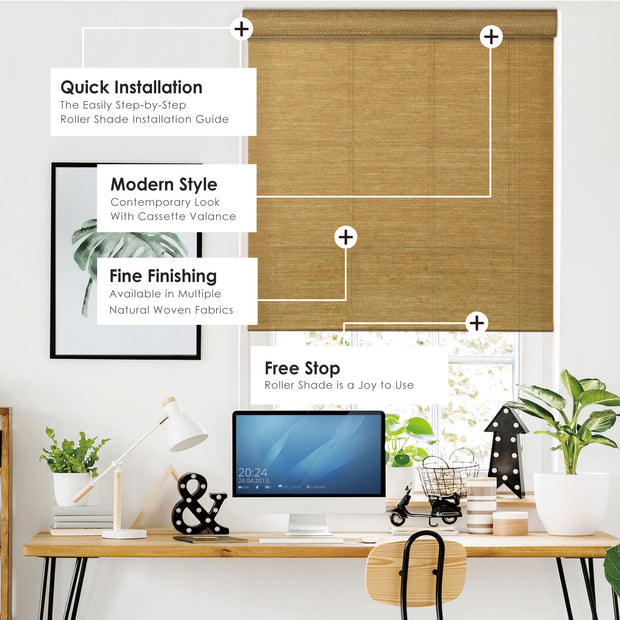 roller shade features
