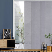 grey sliding panels